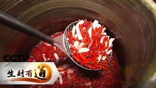 《生财有道》 20191217 四川眉山:泡菜泡出财 味美连世界| CCTV财经