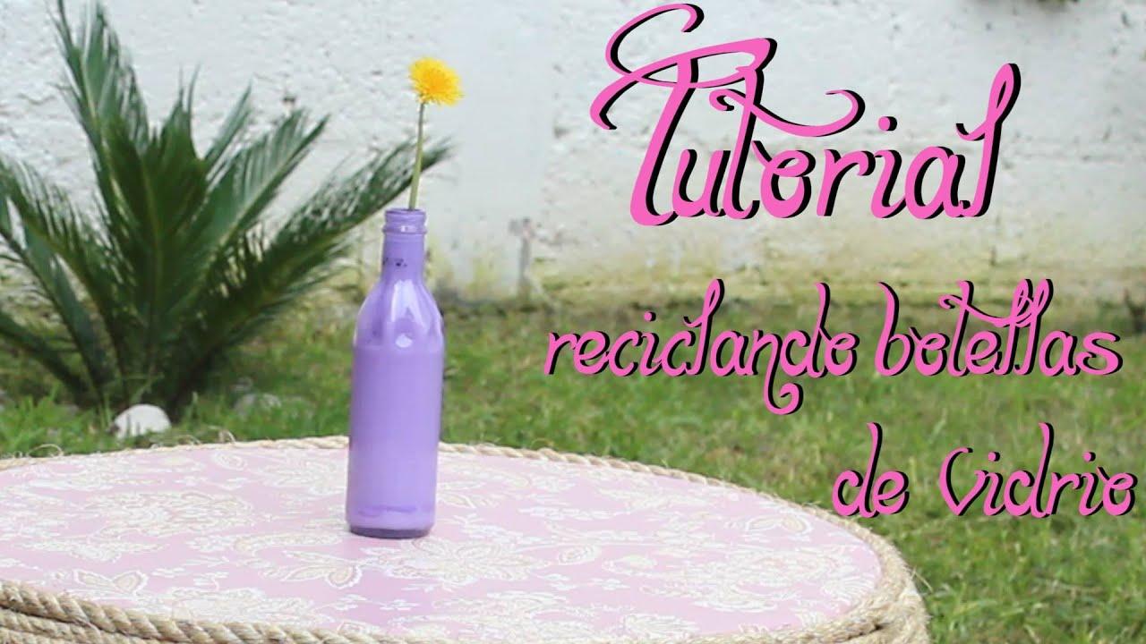 Como hacer floreros con botellas de vidrio f cil y r pido youtube - Fabrica de floreros de vidrio ...
