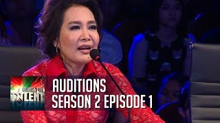 Repeat youtube video Myanmar's Got Talent 2015 | Auditions | Season 2 Episode 1 | FULL
