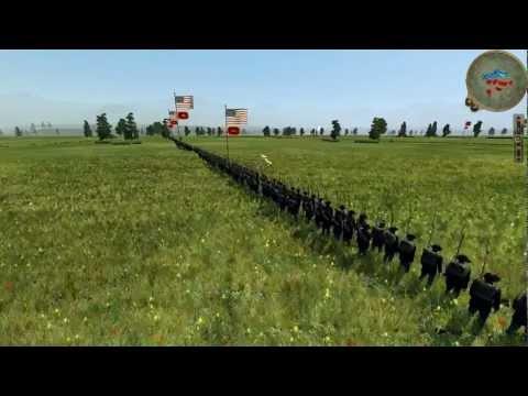 American Civil War - Union v Confederacy - Online Battle #0002