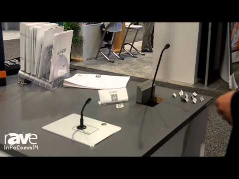 InfoComm 2014: Element One Talks About the Conmic Solutions for Integrated Microphones