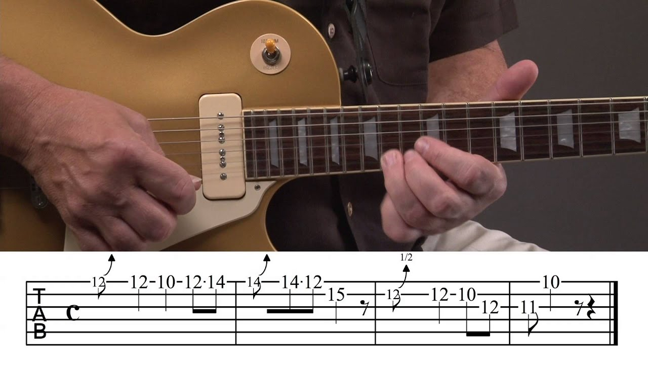 Country Rock Guitar Solo Lesson YouTube - Musical history guitar solo