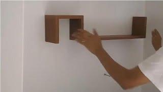 Cómo instalar repisas minimalistas