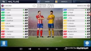 Dream league soccer 2016 #1 full Barcelona kadrosu ve rakip atletico madrid