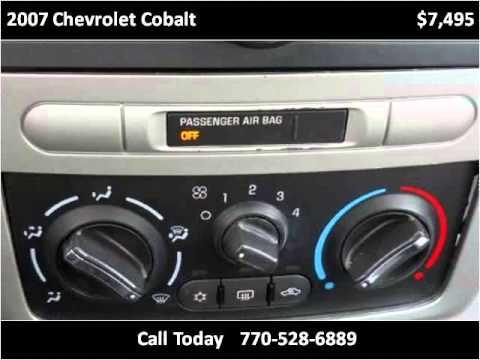 2007 Chevrolet Cobalt Used Cars Marietta Atlanta GA