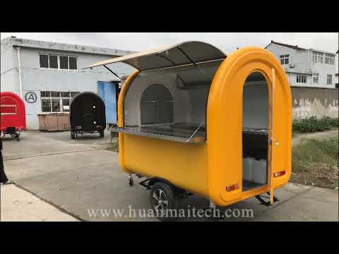 Mobile Food Trailer/Burger Van/Catering Trailer