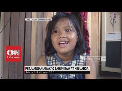 Mengharukan! Gadis 10 Tahun Rawat Keluarganya Seorang Diri