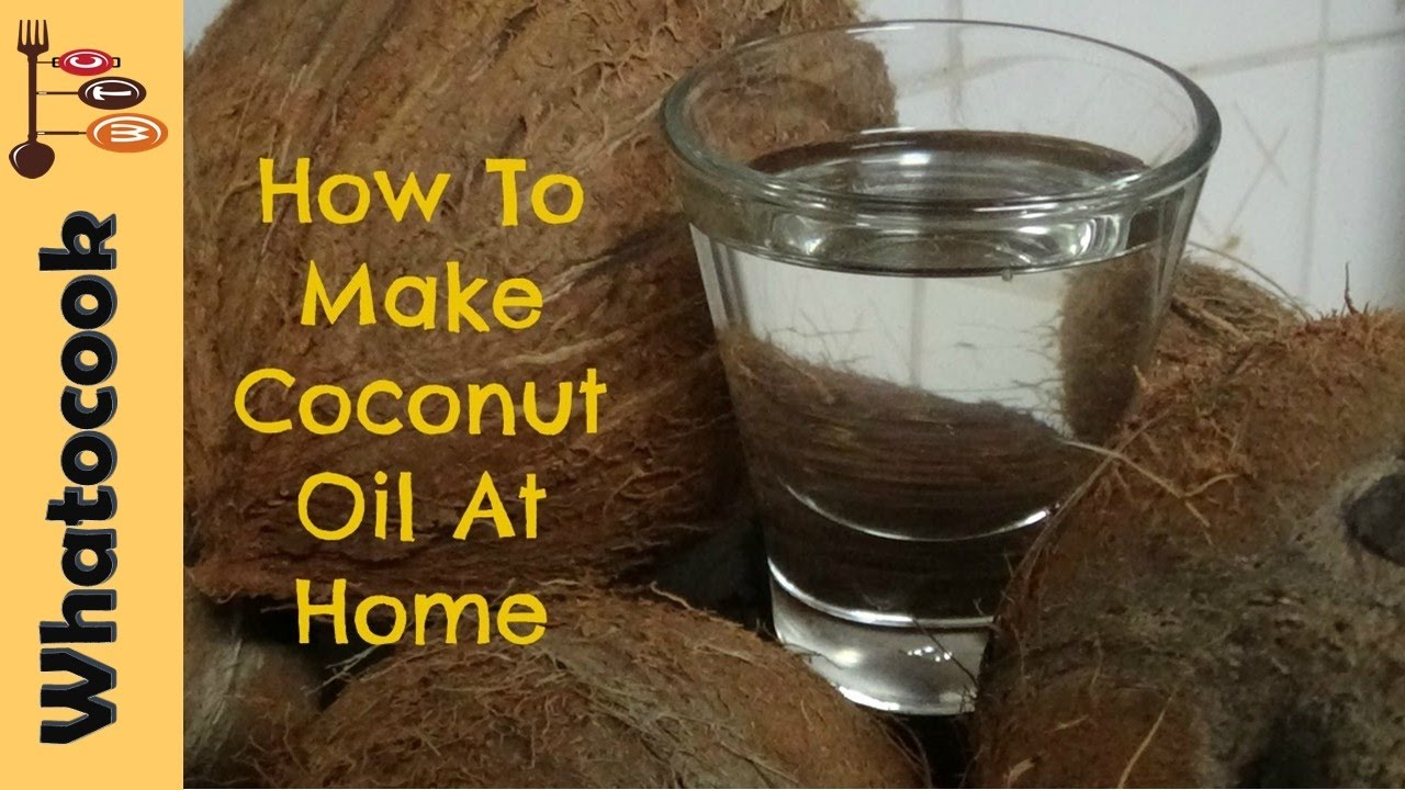 how to make coconut oil at home youtube. Black Bedroom Furniture Sets. Home Design Ideas