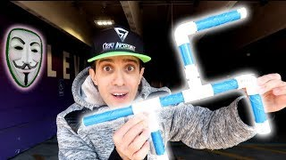 How to Make a Marshmallow Gun to Battle the Game Master!
