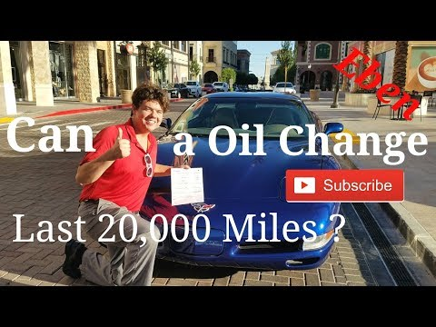 Can a Oil Change Last 20,000 Miles ?