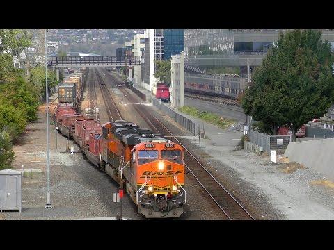 BNSF 6140, the Garbage Train, and My Big 'ol Fancy Camera! 4K