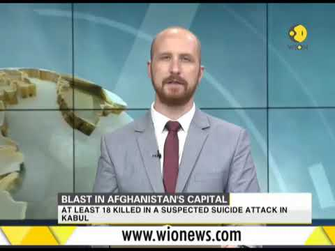 Bomb blast in #Afghanistan capital #Kabul 16 November 2017