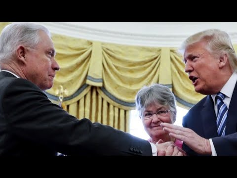 Trump lashes out against Attorney General Jeff Sessions CBS News justice reporter Paula Reid breaks do