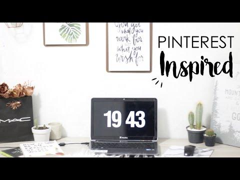 TUTORIAL: Descanso De Tela De Relógio   Fliqlo Pinterest Inspired