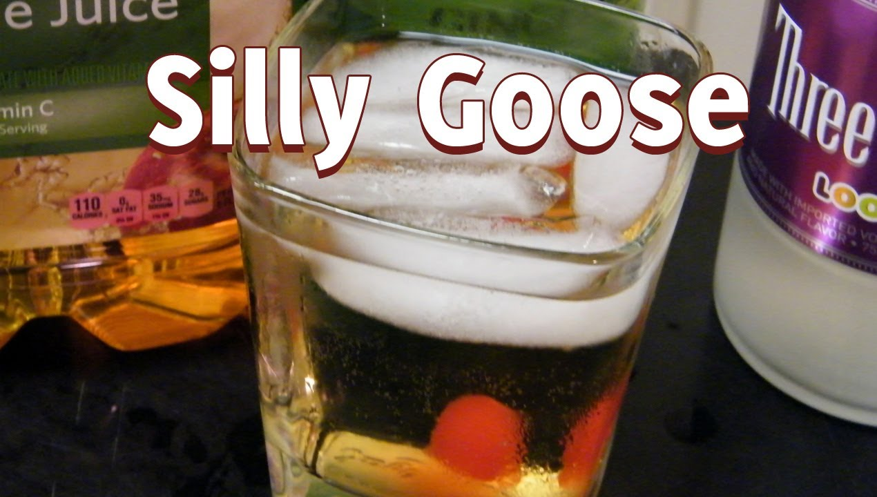 Great Cocktail Recipes Silly Goose Drink Recipe Via Thefndc Com