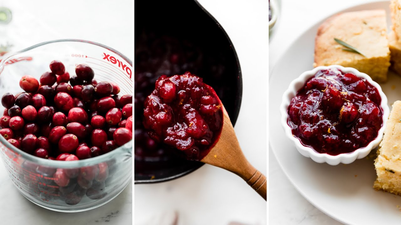 Our Favorite Cranberry Sauce Recipe Video Sally S Baking Addiction
