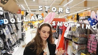♡shop with me at dollarstore♡