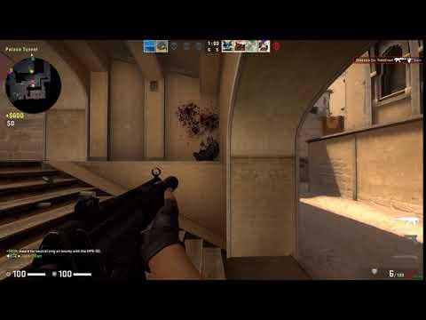 CsGo Clean MP5 Kill