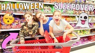 BFF Halloween Sleepover!! GIRL'S NIGHT Vlog