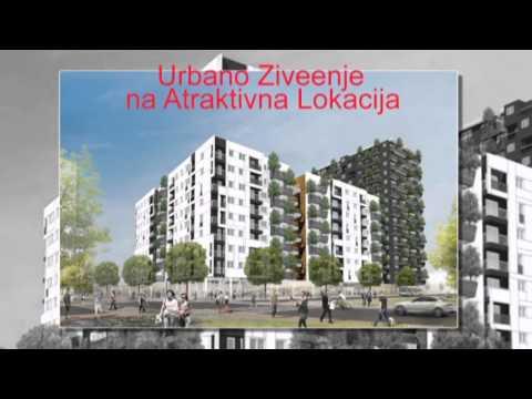 """Во Продажба  !!!  Нови Станови од 30 м2 до 180 м2 - """"Skopje City Garden"""""""