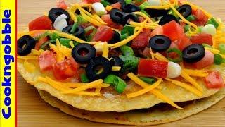 Mexican Pizza, Homemade  It's Bueno!