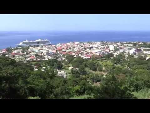 Roseau, Dominica - Morne Bruce Scenic Overlook HD (2015)