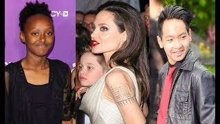 Angelina Jolie's kids 2019 [ 3 daughters / 3 Sons ]