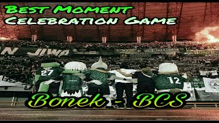 best moment bonek bcs saat celebration game persebaya vs pss at gbt 9122017