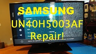 Repairing a Samsung UN40H5003AF