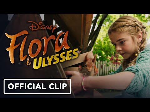 Disney Plus' Flora & Ulysses: Exclusive Official Clip (2021) - Matilda Lawler, Ben Schwartz