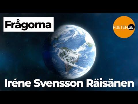 FRÅGORNA en diktvideo av poeten Iréne Svensson Räisänen