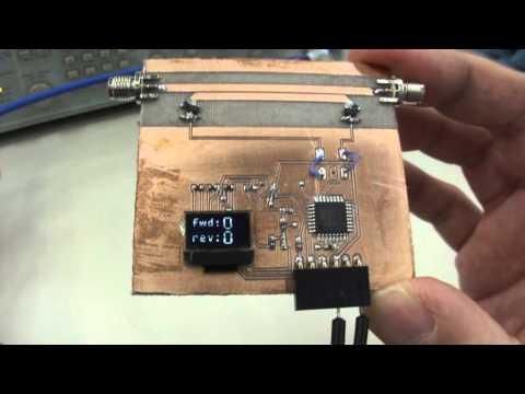 Antenna & filter analyzer 0 2 - 600 MHz with Arduino by i0cg