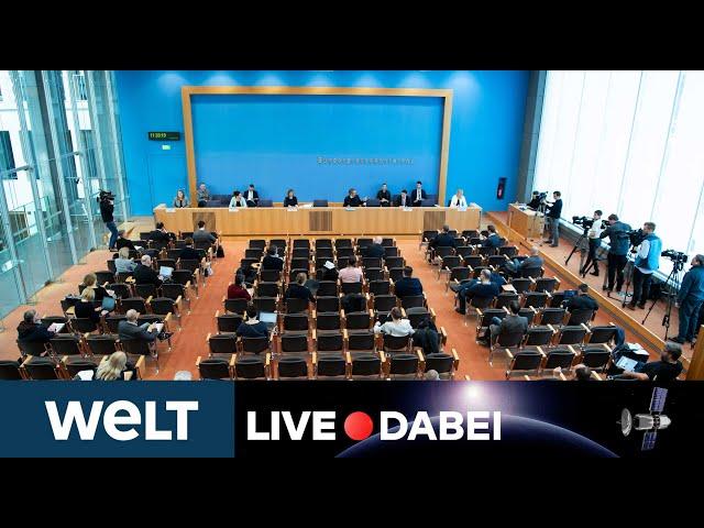 WELT LIVE DABEI: Briefing der Bundesregierung zur aktuellen Corona-Lage