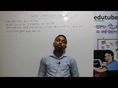 HSC Finance 1st Paper আর্থিক বিশ্লেষণ. Solution of Dhaka Board 2016