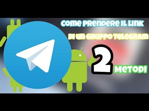 Come Prendere il link del Proprio Gruppo Telegram [2 ...