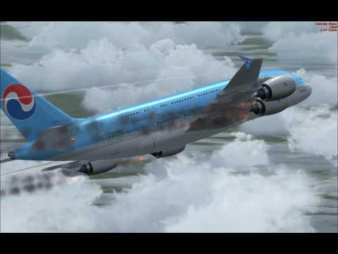 Korean Airlines A380 Crash