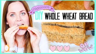 How To Make Whole Wheat Bread | Healthy, Easy & Quick Recipe For Weight Loss