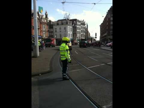 Ambulance Muntplein Amsterdam