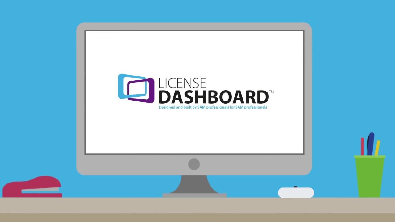 Manage software licenses - License Dashboard