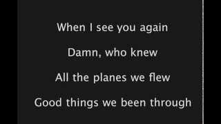 See You Again Karaoke Full Beat - Wiz Khalifa ft Charlie Puth