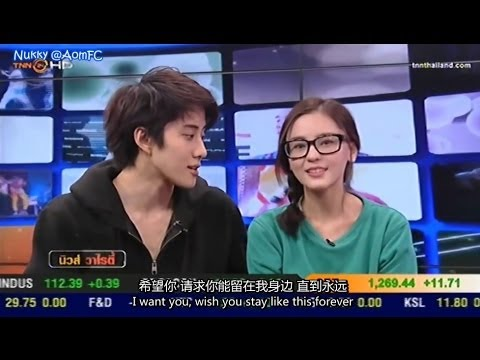 【ENG&CHN SUB】Aom Mike -  House Thai News Variety 9Jan14