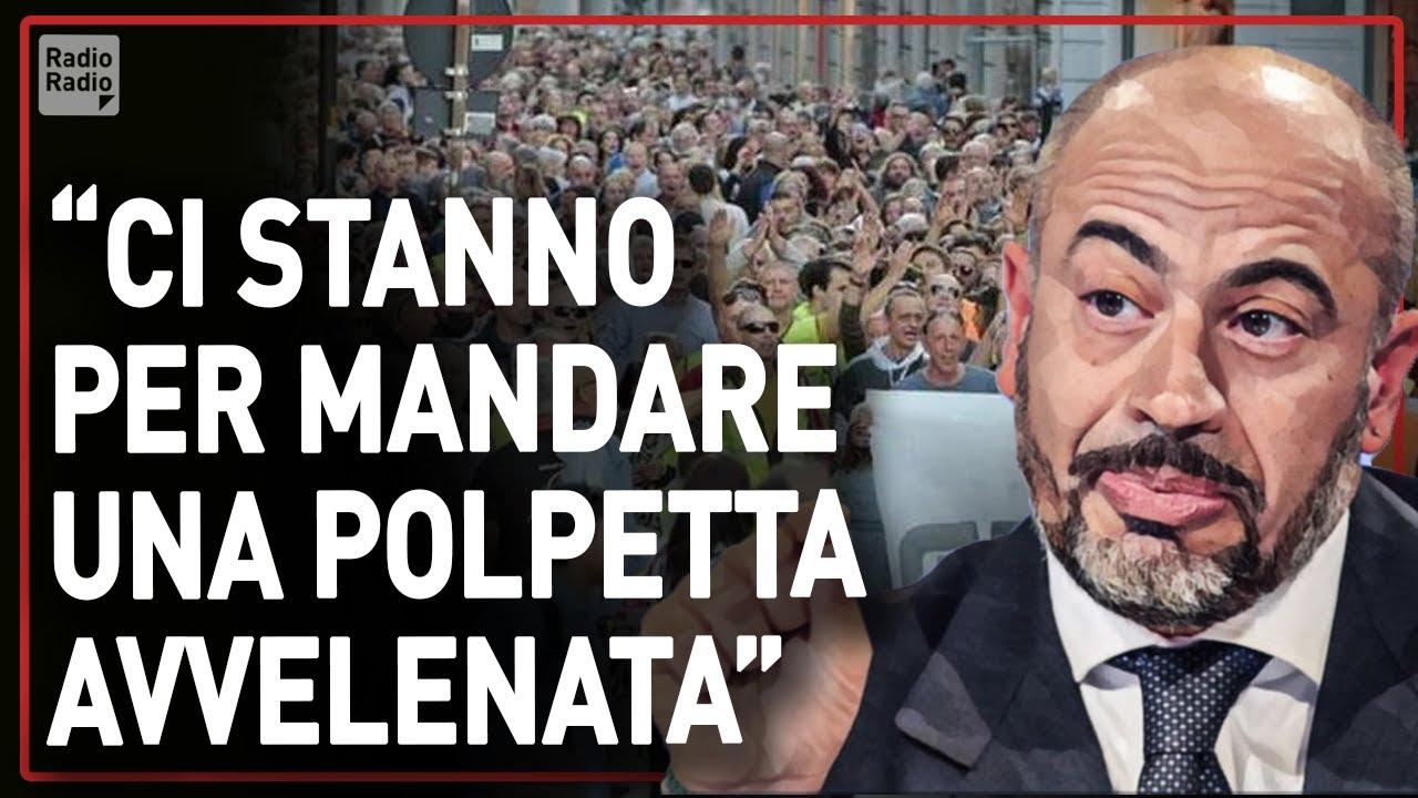"""PARAGONE LANCIA L' ALLARME ▷ """"A TRIESTE RISCHIO INFILTRAZIONI: SOSTENIAMO LA PROTESTA NO GREEN PASS"""""""