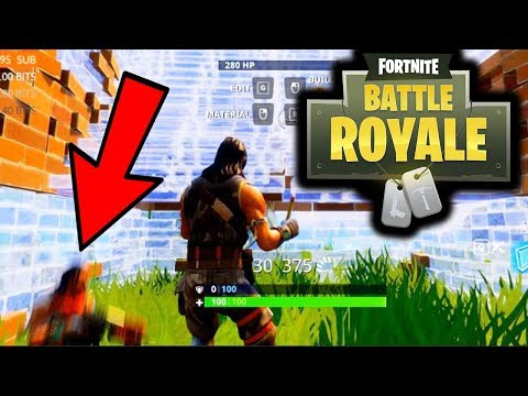 FORTNITE BATTLE ROYAL - WAS HE CHEATING?!?! (Glitched Thru Wall)