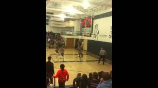 WVU Sagaba Konate catches the Off the back board alley oop from his brother  In a HS game