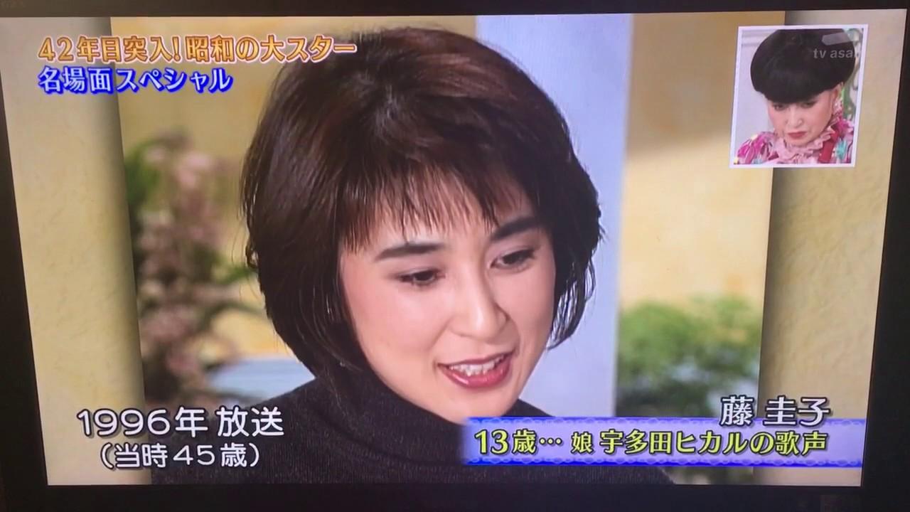 母 宇多田 ヒカル