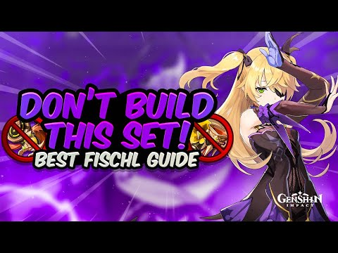 UPDATED FISCHL GUIDE! Best Support (Sub-DPS) Build – All Artifacts, Weapons & Teams | Genshin Impact