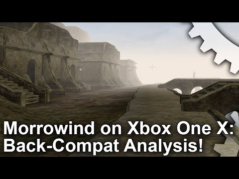 Morrowind on Xbox One X: the slowest Elder Scrolls console