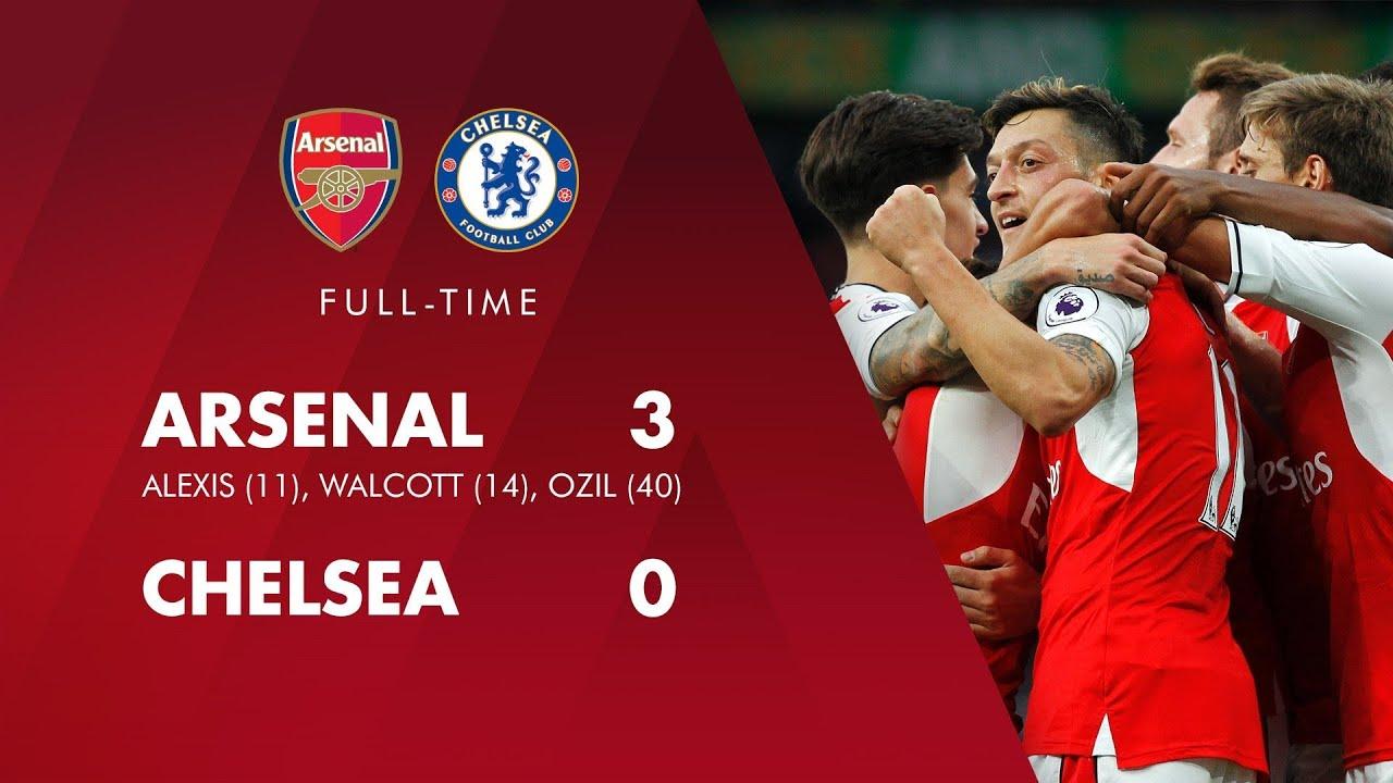 Arsenal vs chelsea 3 1