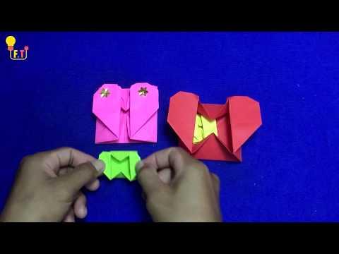 Beautiful Heart Paper, DIY Idea  Heart Paper, How to make  Heart Paper ?