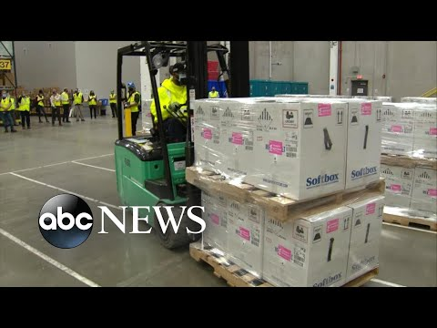 Doses of Pfizer's COVID-19 vaccine begin to ship Sunday | ABC News